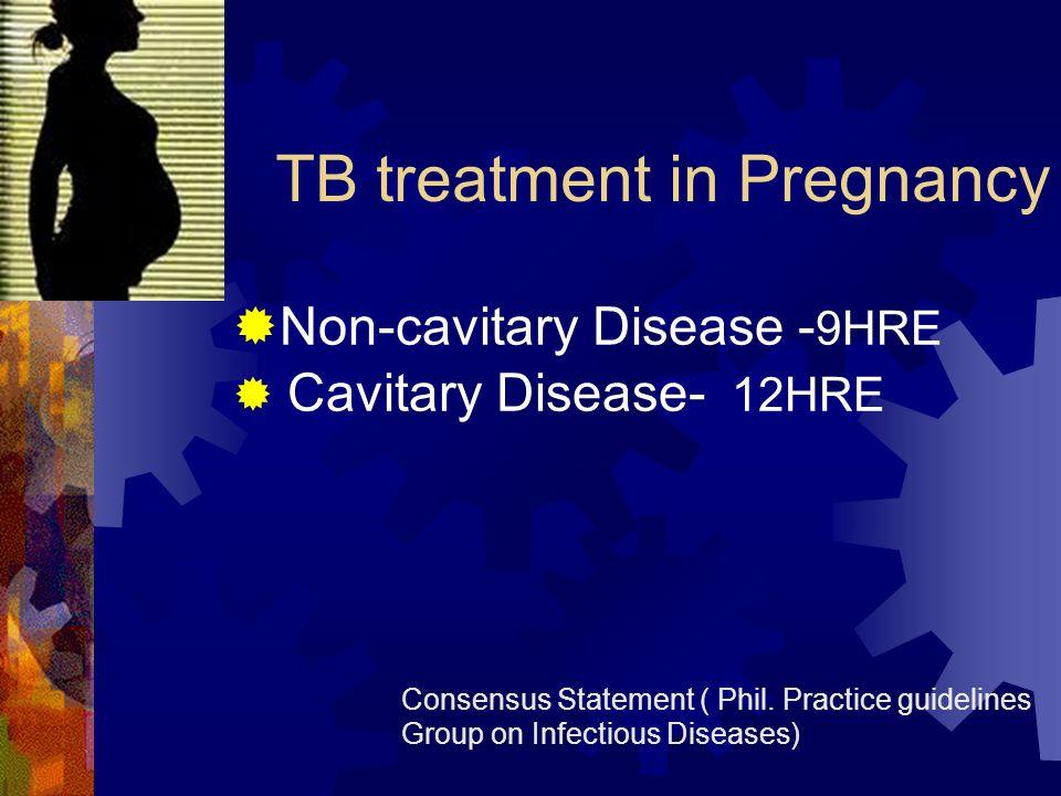 TB treatment in Pregnancy