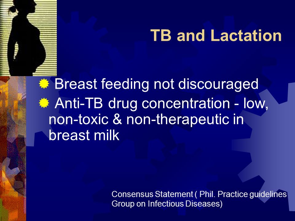 TB and Lactation Breast feeding not discouraged