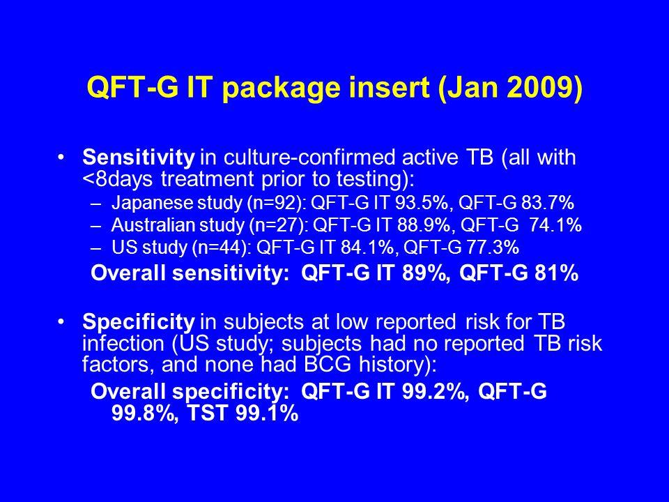 QFT-G IT package insert (Jan 2009)
