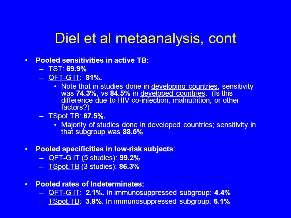 Diel et al metaanalysis, cont