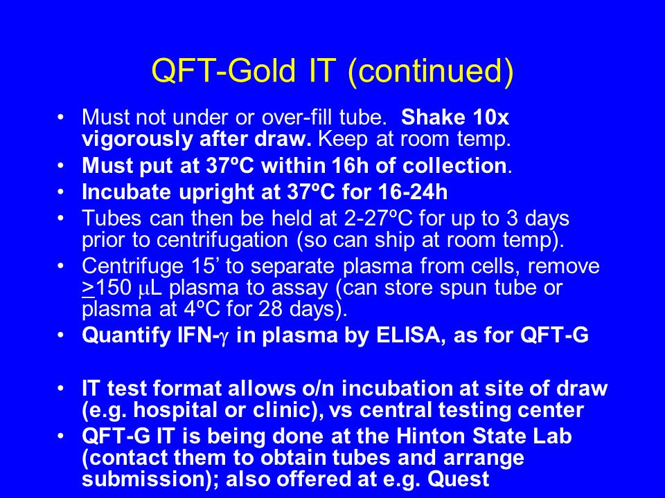 QFT-Gold IT (continued)