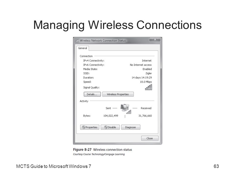 Managing Wireless Connections