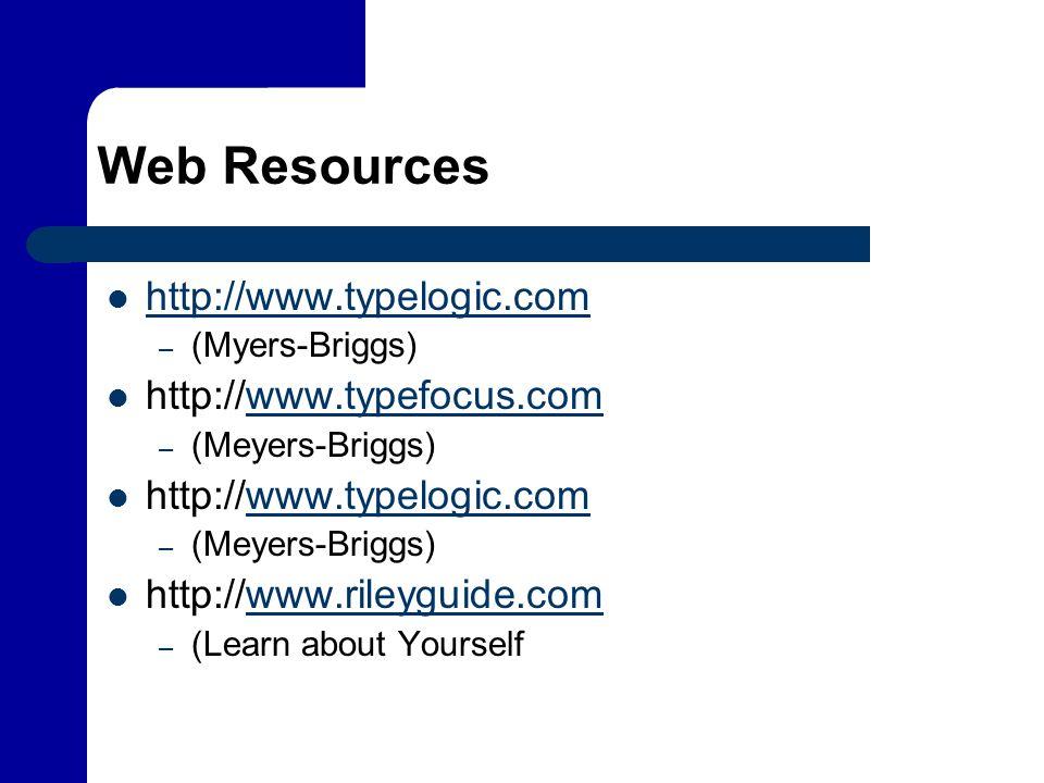 Web Resources http://www.typelogic.com http://www.typefocus.com