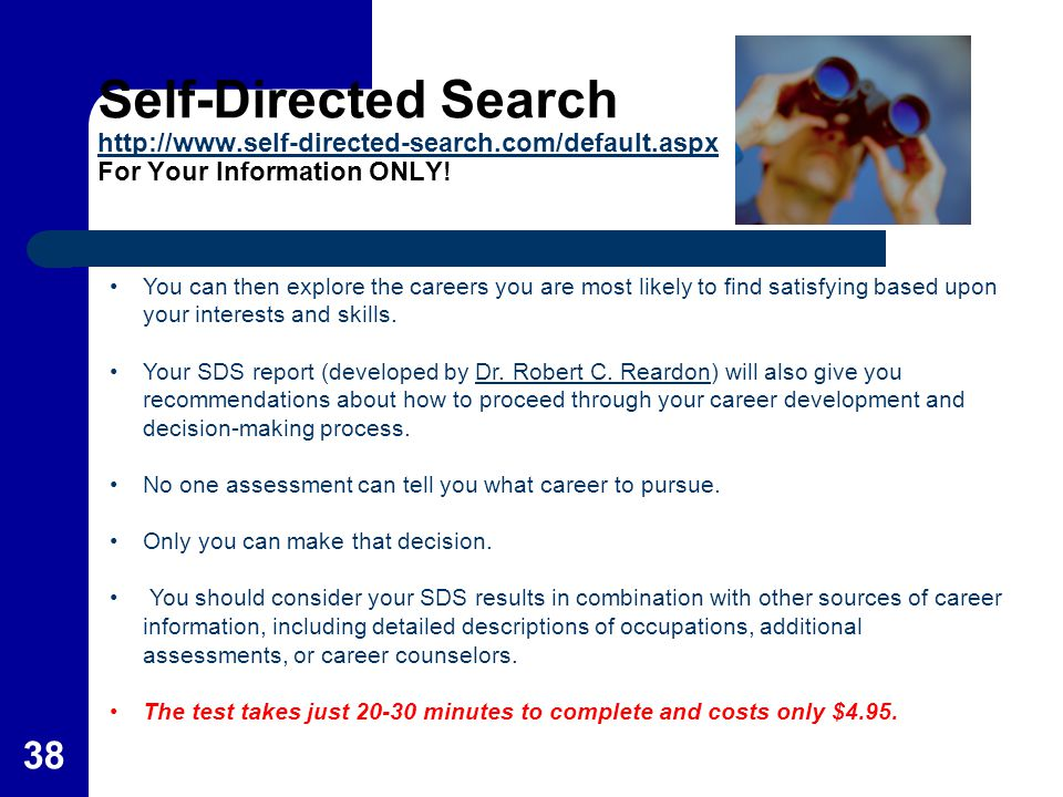 Self-Directed Search   self-directed-search. com/default