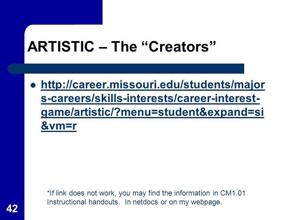 ARTISTIC – The Creators