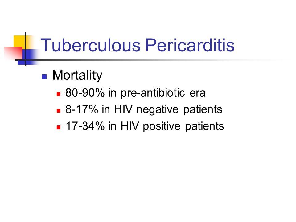 Tuberculous Pericarditis