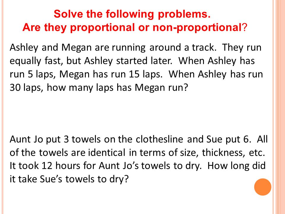 Solve the following problems.