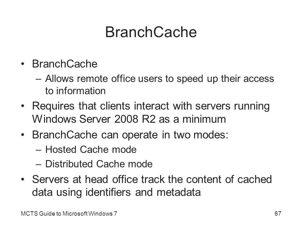 BranchCache BranchCache