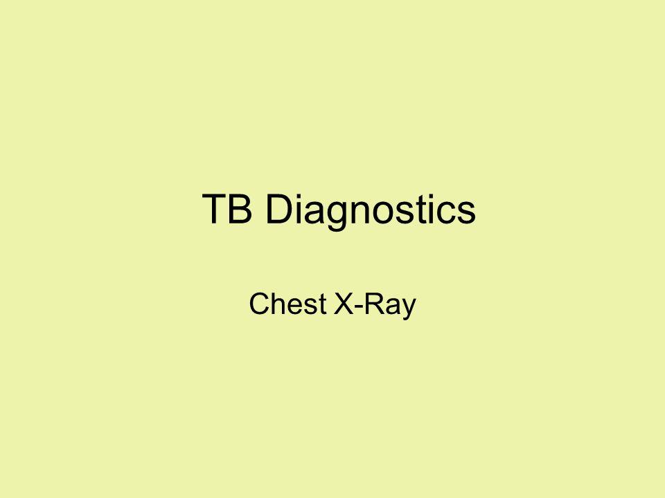 TB Diagnostics Chest X-Ray Hello