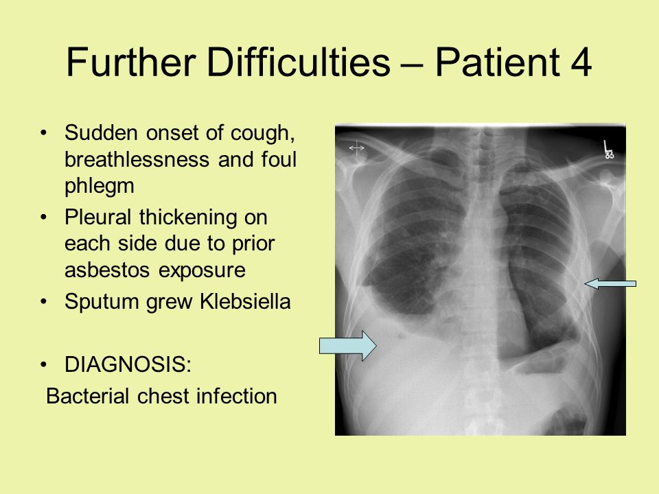 Further Difficulties – Patient 4