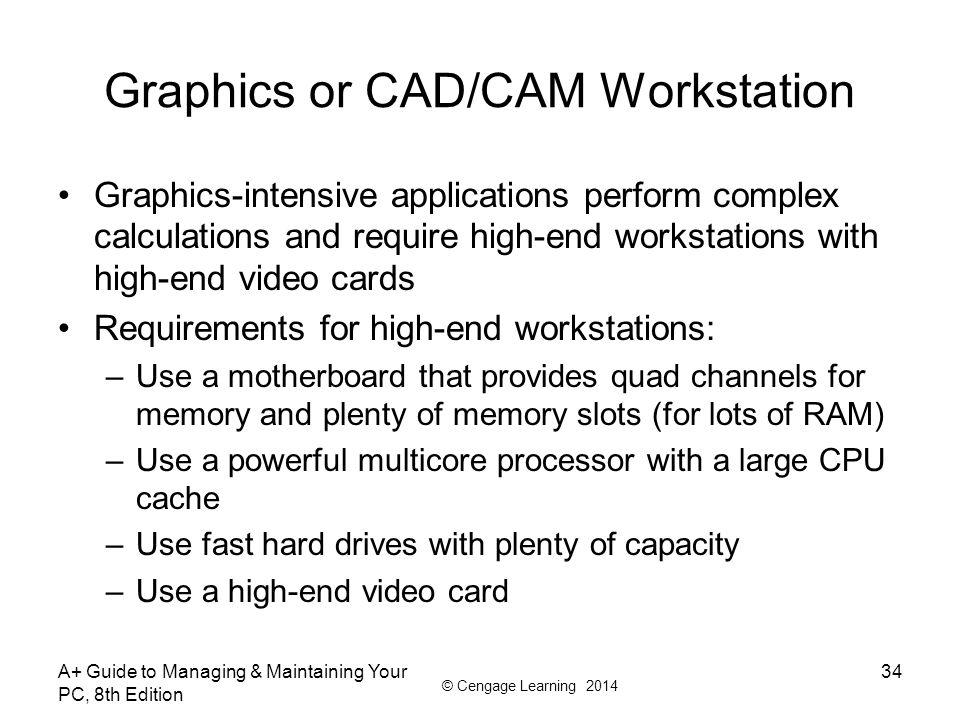 Graphics or CAD/CAM Workstation