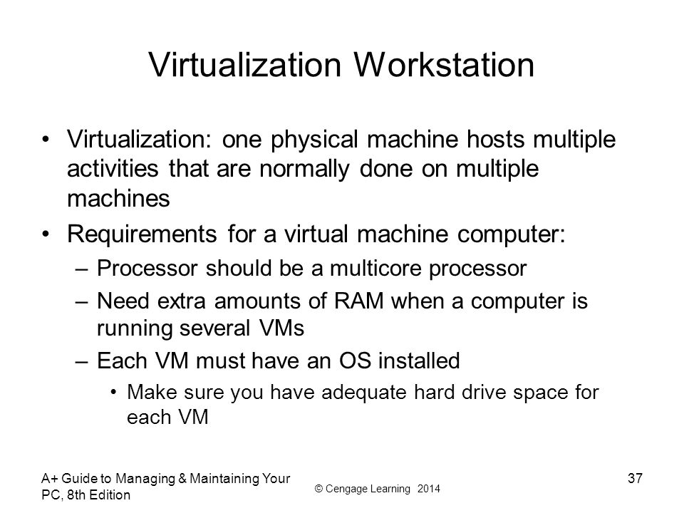 Virtualization Workstation