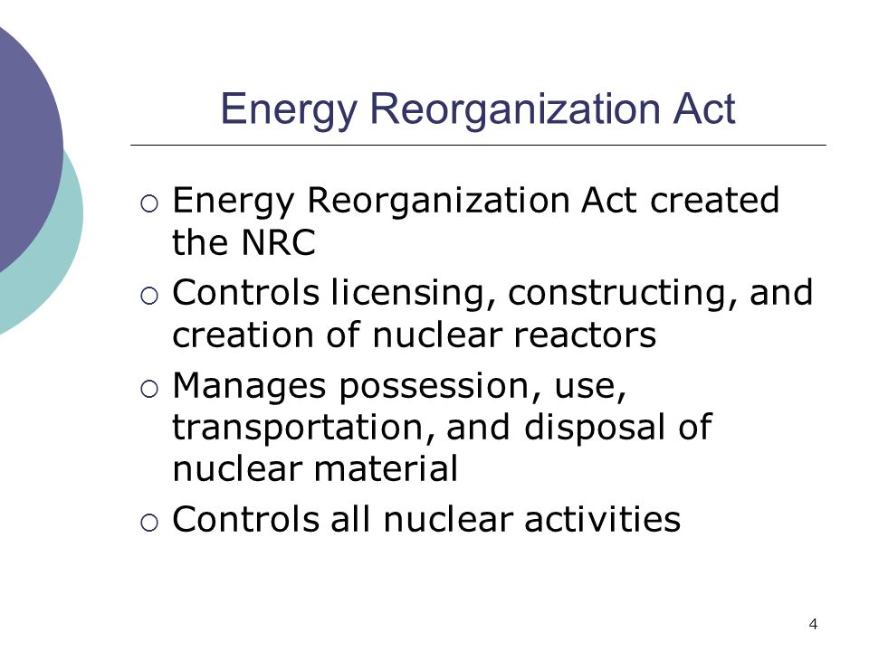 Energy Reorganization Act