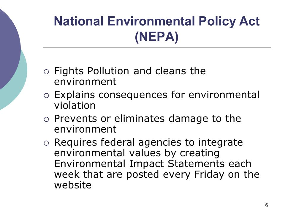 national environmental policy act pdf