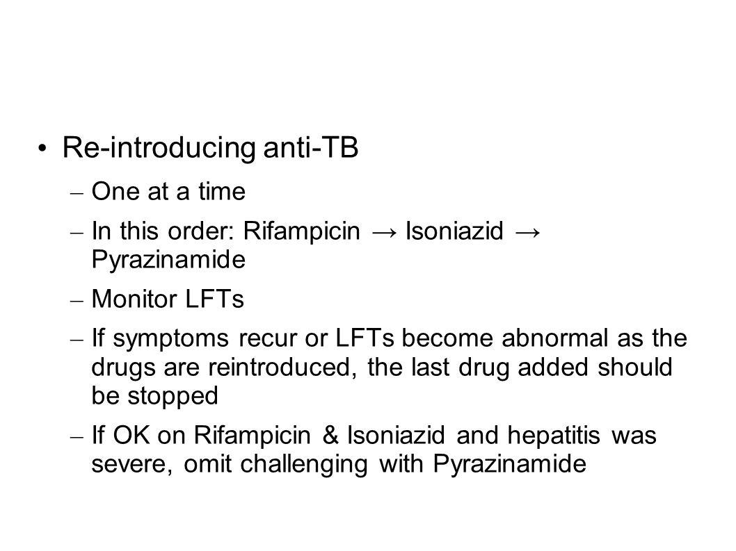 Re-introducing anti-TB