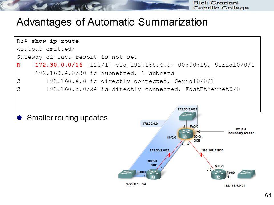 Advantages of Automatic Summarization