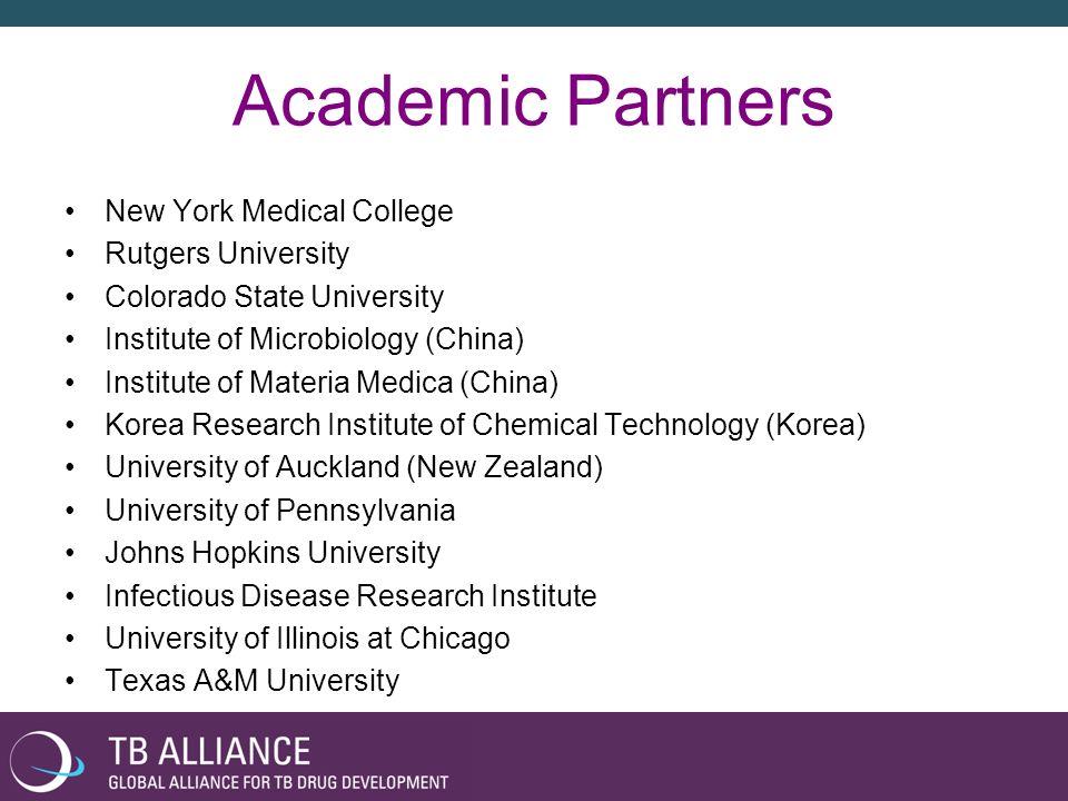 Academic Partners New York Medical College Rutgers University
