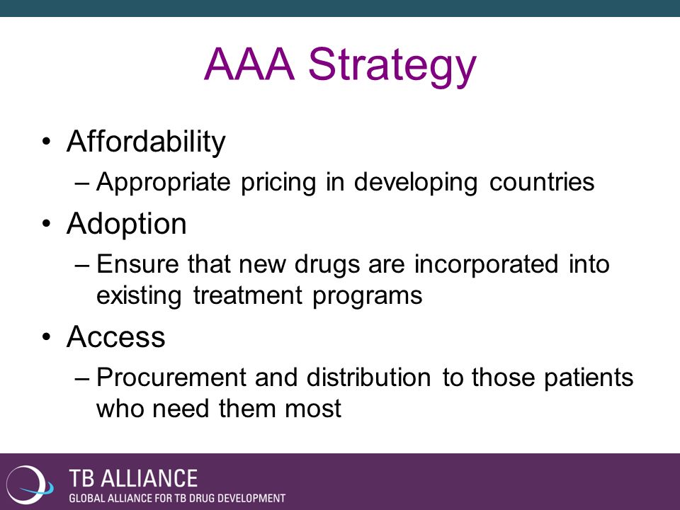 AAA Strategy Affordability Adoption Access