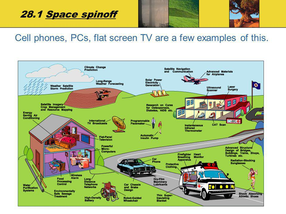 Cell phones, PCs, flat screen TV are a few examples of this.