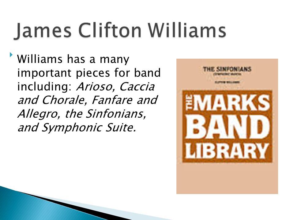 James Clifton Williams