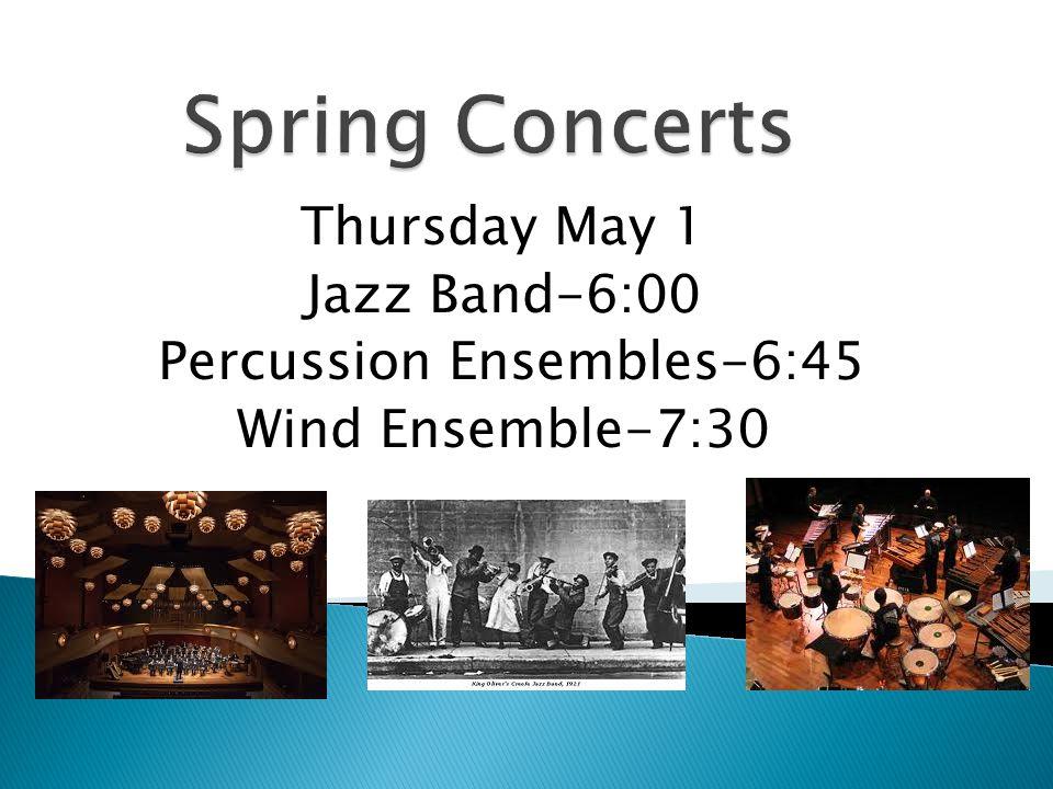 Percussion Ensembles-6:45