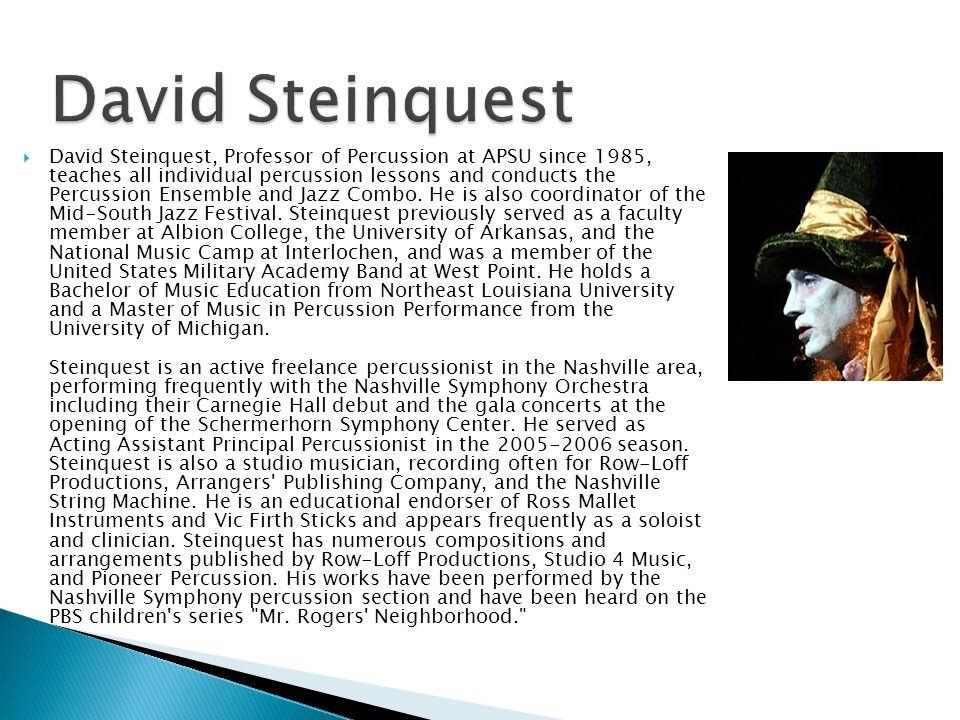 David Steinquest
