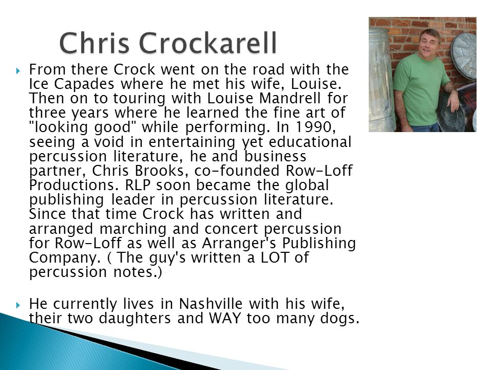 Chris Crockarell