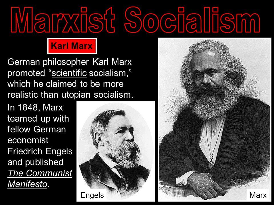 Marxist Socialism Karl Marx