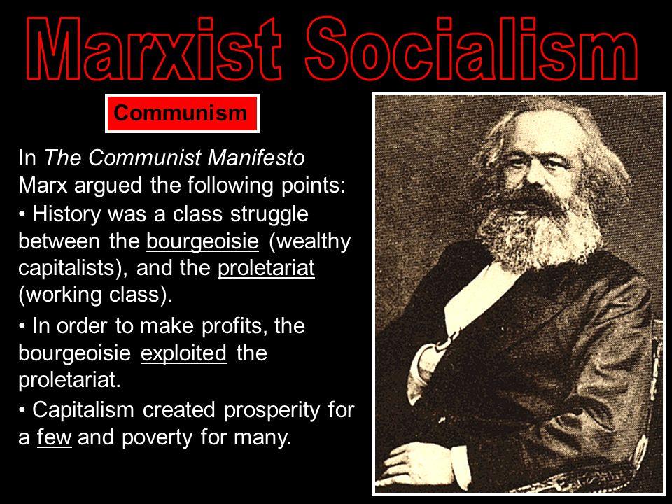 Marxist Socialism Communism