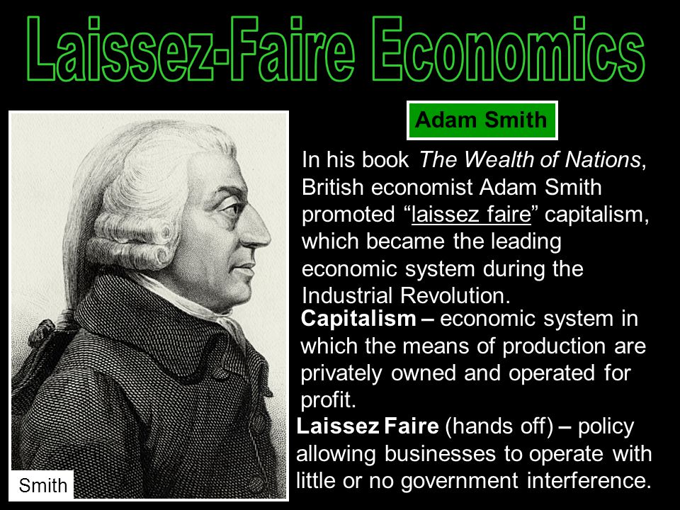 an analysis of the topic of the classical laissez faire economics