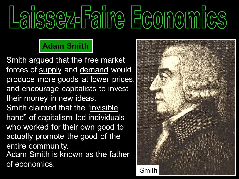 did government violate laissez faire essay Apush 1979 dbq from 1865 to 1900, the federal government was defiantly contradictory on their laissez faire economic principles although the idea was to keep the government out of economic affairs, the nation violated this by supplying land grant to railroads, taking control of interstate commerce, and the involvement of the antitrust activity.