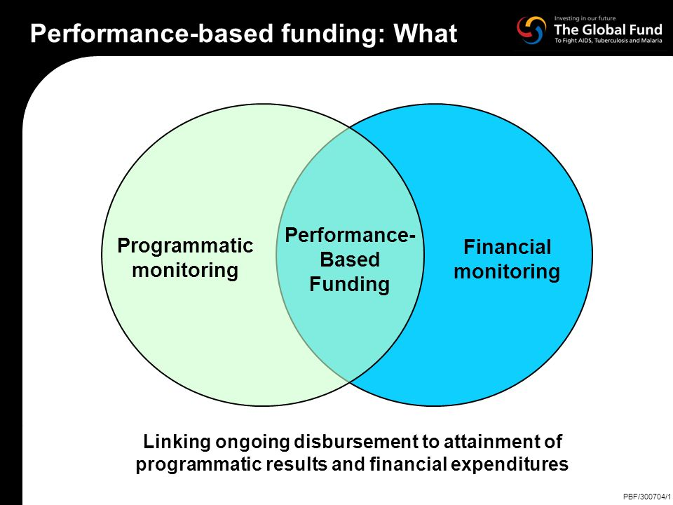 Performance-based funding: What