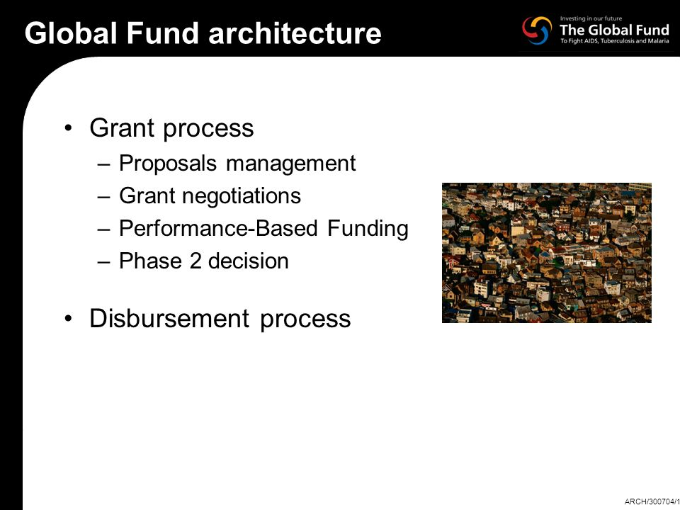 Global Fund architecture