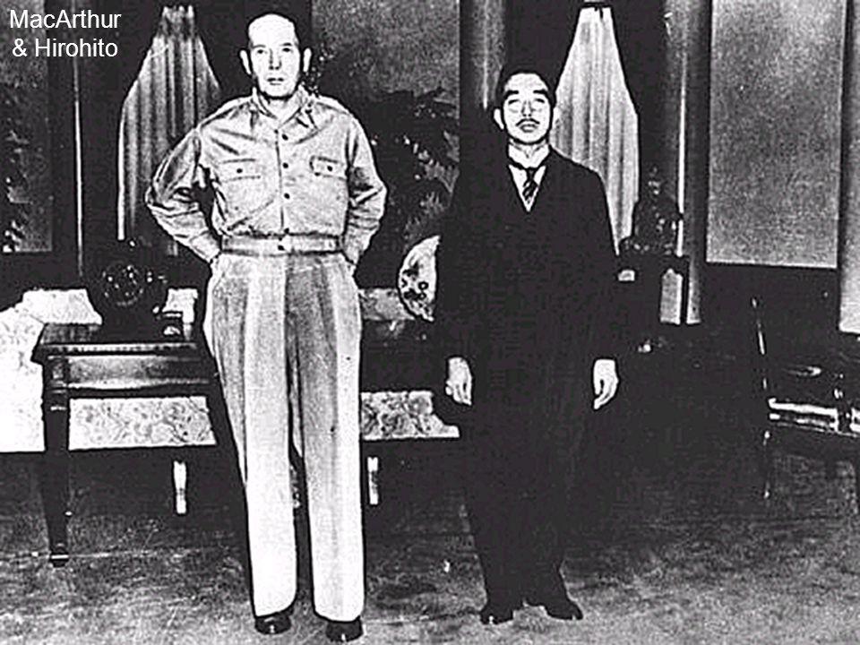 MacArthur & Hirohito