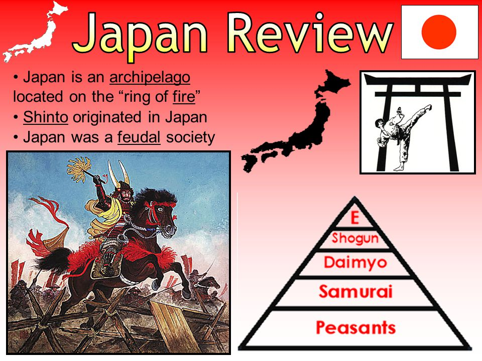 Japan Review Japan is an archipelago located on the ring of fire