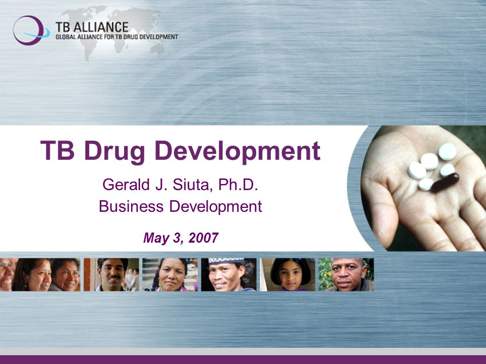 Gerald J. Siuta, Ph.D. Business Development May 3, 2007