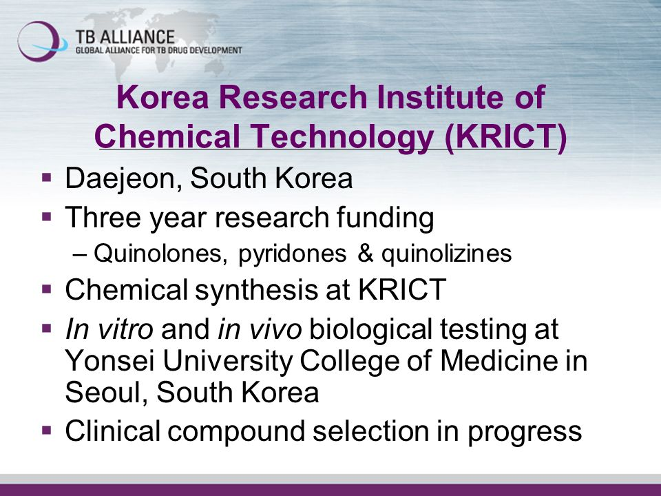 Korea Research Institute of Chemical Technology (KRICT)