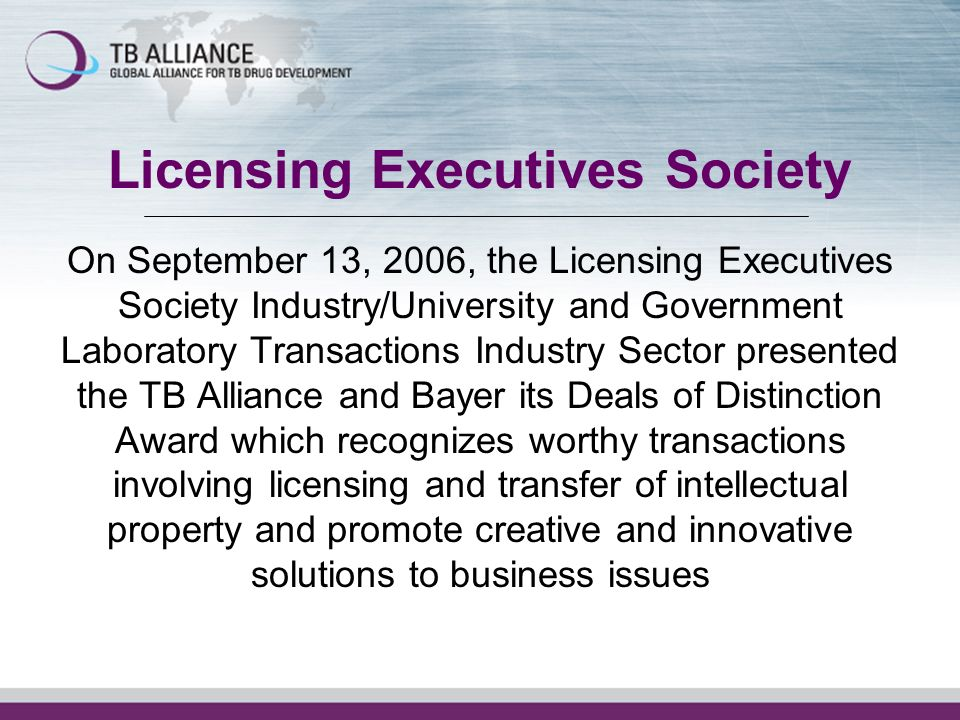 Licensing Executives Society