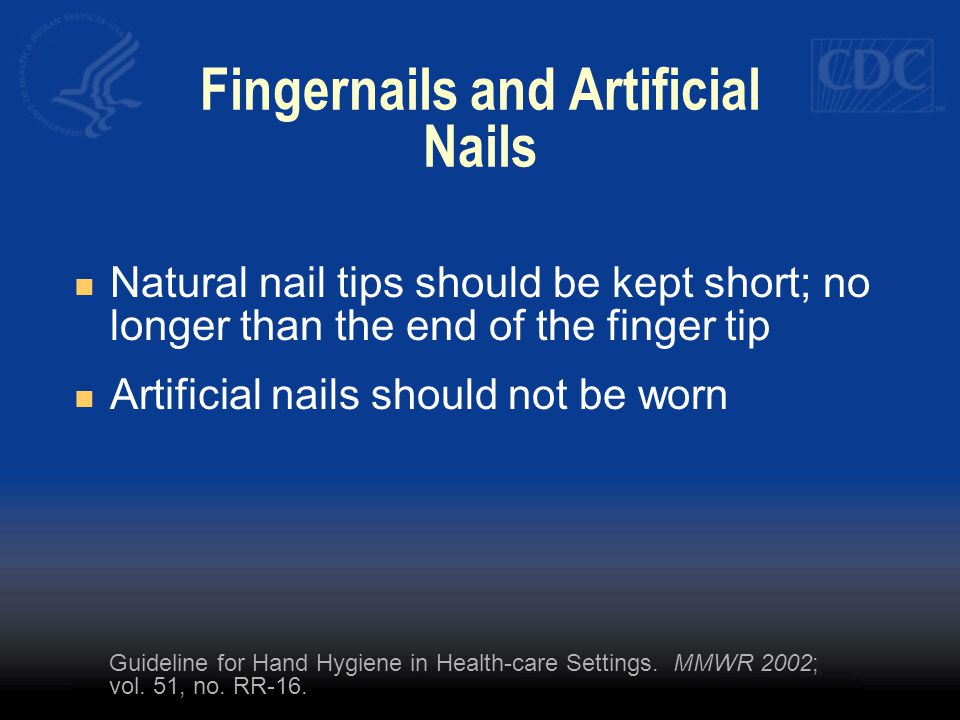 Fingernails and Artificial Nails