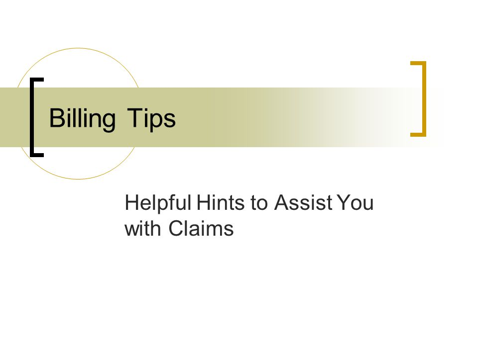 Helpful Hints to Assist You with Claims