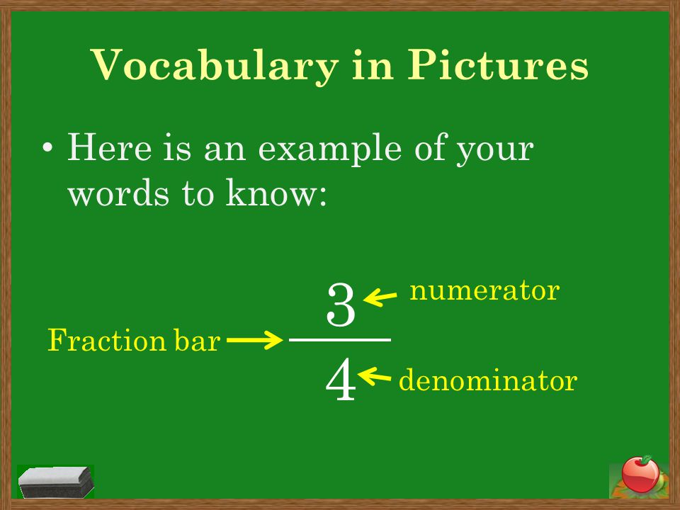 Vocabulary in Pictures