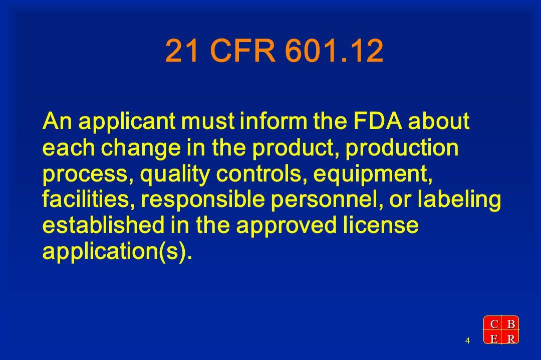21 CFR 601.12