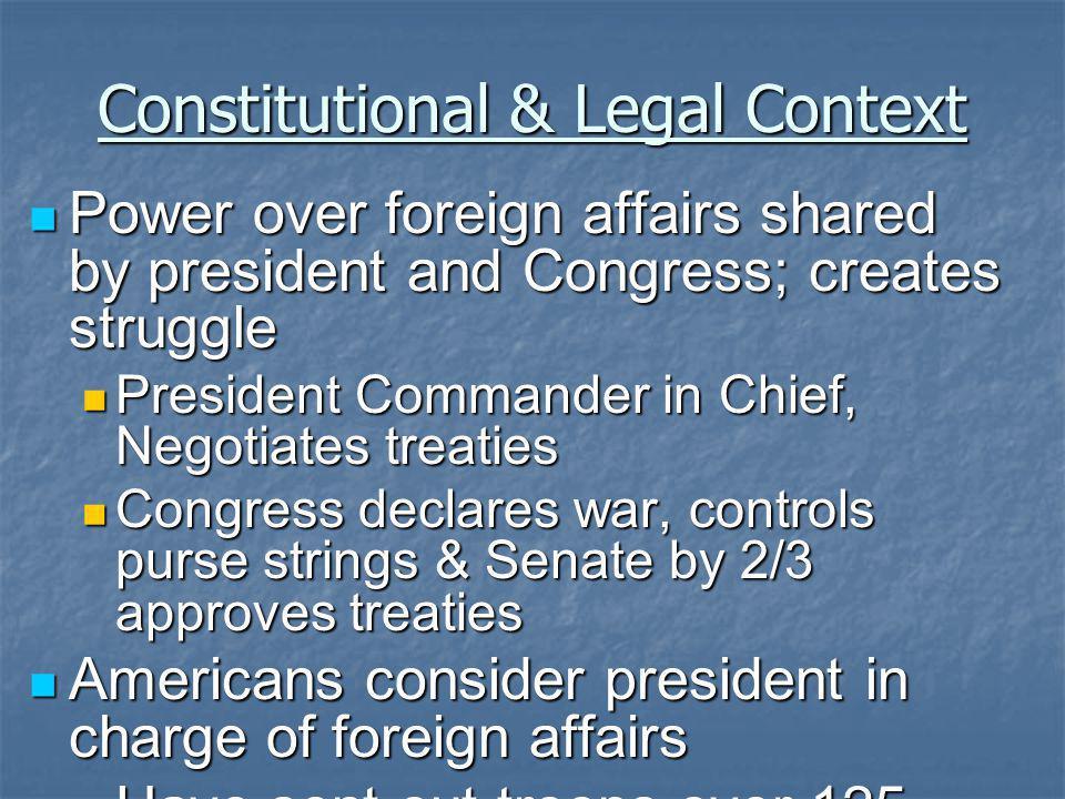 Constitutional & Legal Context