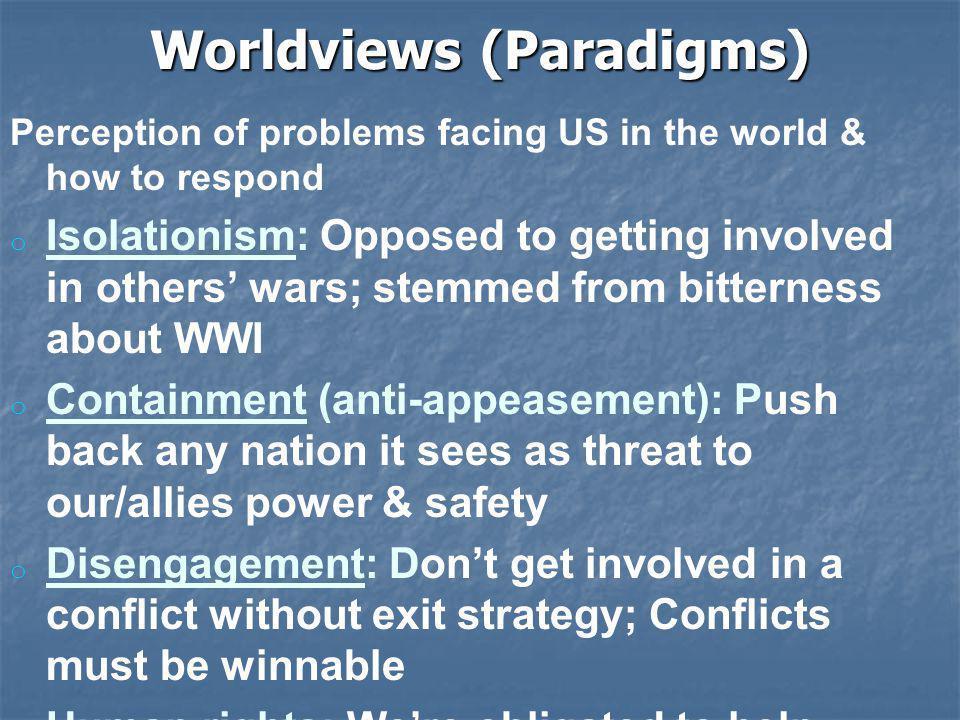 Worldviews (Paradigms)
