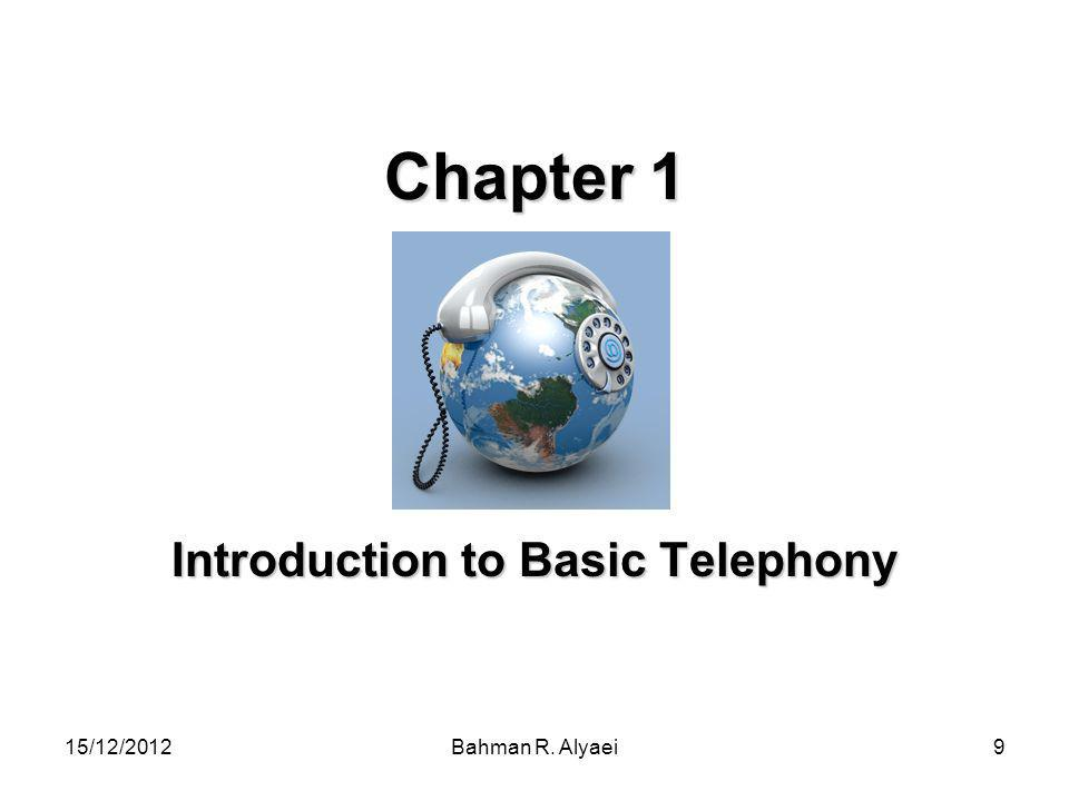 Introduction to Basic Telephony
