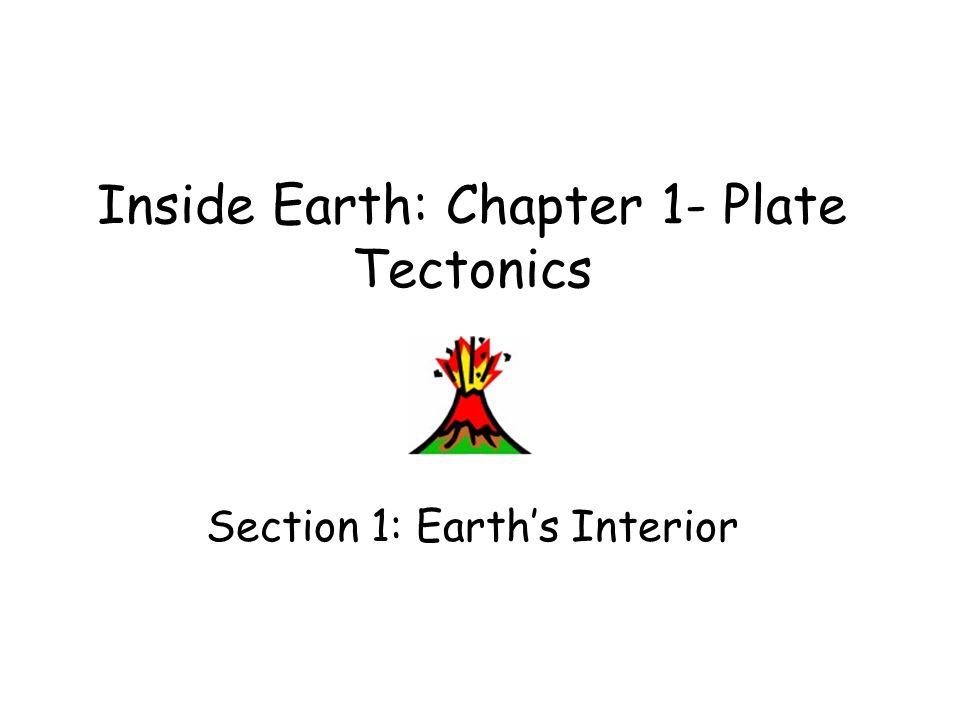 Inside Earth: Chapter 1- Plate Tectonics