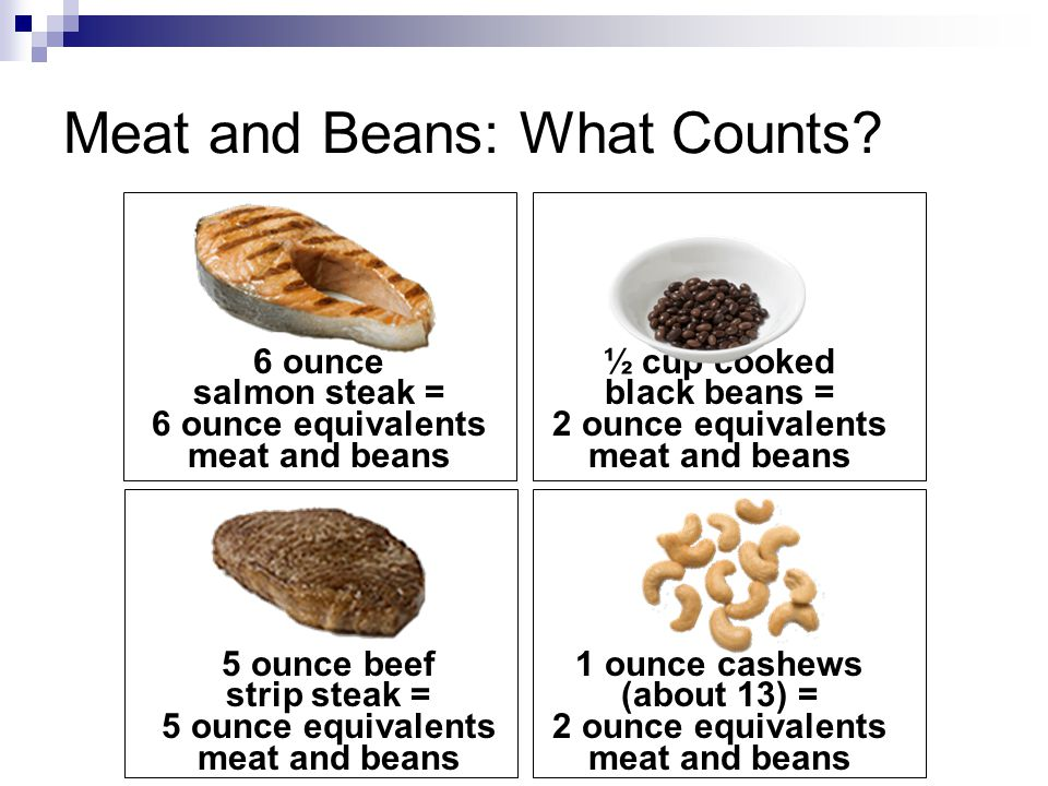 Meat and Beans: What Counts