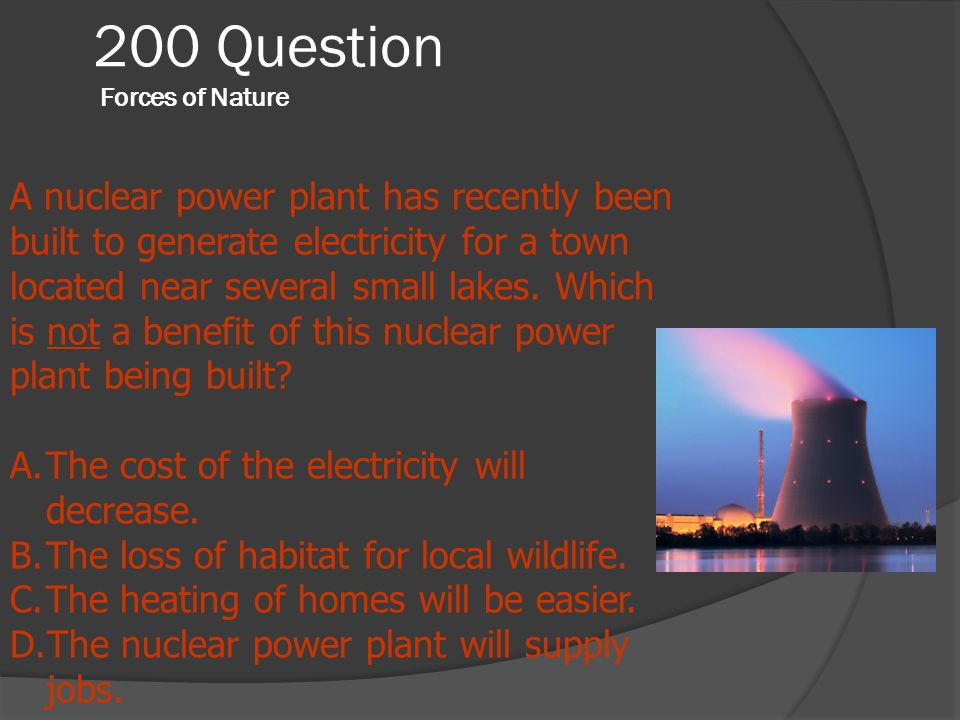 200 Question Forces of Nature