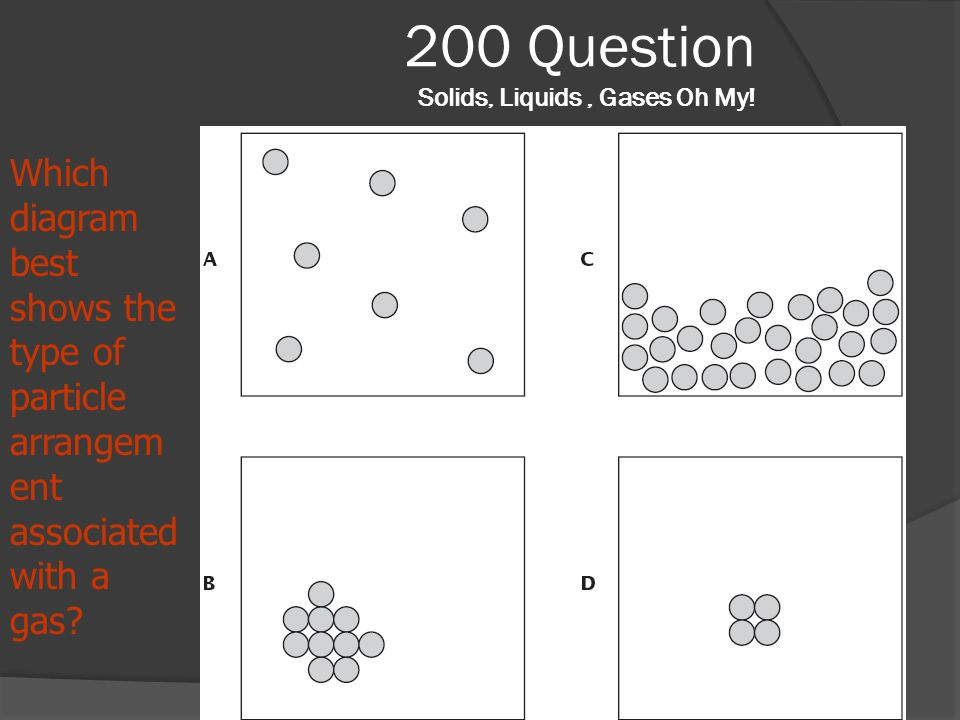 200 Question Solids, Liquids , Gases Oh My!