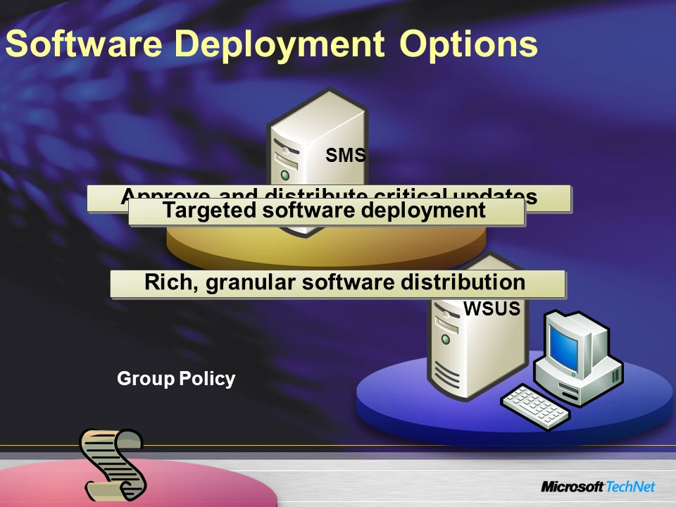 Software Deployment Options
